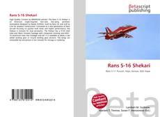 Copertina di Rans S-16 Shekari