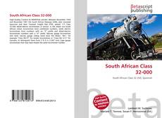 Bookcover of South African Class 32-000
