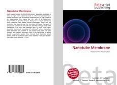 Borítókép a  Nanotube Membrane - hoz