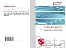 Bookcover of Villanueva Saravia