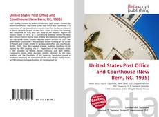 Copertina di United States Post Office and Courthouse (New Bern, NC, 1935)