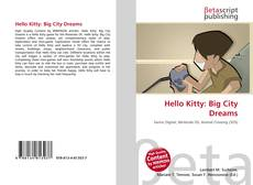 Portada del libro de Hello Kitty: Big City Dreams