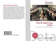 Buchcover von Paul M. Hebert Law Center