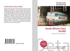 Bookcover of South African Class 34-600