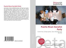 Bookcover of Puerto Rican Socialist Party