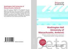 Обложка Washington Hall (University of Massachusetts, Amherst)