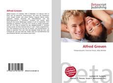 Alfred Greven kitap kapağı