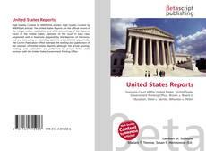 Buchcover von United States Reports