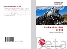 Bookcover of South African Class 37-000