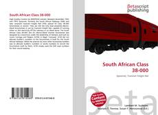 Couverture de South African Class 38-000