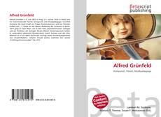 Buchcover von Alfred Grünfeld