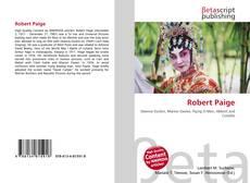 Buchcover von Robert Paige