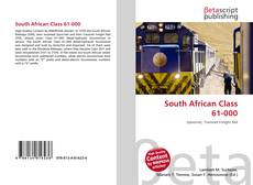Bookcover of South African Class 61-000