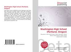 Buchcover von Washington High School (Portland, Oregon)