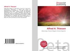 Bookcover of Alfred H. Thiessen