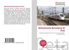 Bookcover of Bahnstrecke Barcelona–El Prat