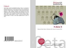 Bookcover of F-Zero X