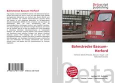 Bookcover of Bahnstrecke Bassum–Herford