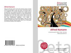 Capa do livro de Alfred Hamann