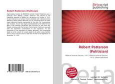 Couverture de Robert Patterson (Politician)