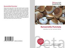 Bookcover of Ransoniella Punctata