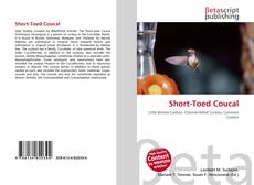 Capa do livro de Short-Toed Coucal