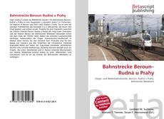 Buchcover von Bahnstrecke Beroun–Rudná u Prahy
