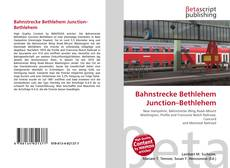 Bookcover of Bahnstrecke Bethlehem Junction–Bethlehem
