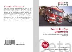Portada del libro de Puerto Rico Fire Department