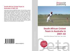 Bookcover of South African Cricket Team in Australia in 2001–02