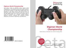 Buchcover von Digimon World Championship