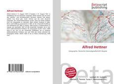 Portada del libro de Alfred Hettner
