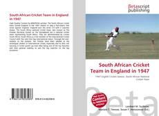 Copertina di South African Cricket Team in England in 1947