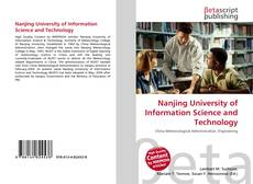 Bookcover of Nanjing University of Information Science and Technology
