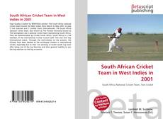 Bookcover of South African Cricket Team in West Indies in 2001