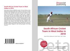 Bookcover of South African Cricket Team in West Indies in 2010
