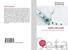 Buchcover von Puffin (Aircraft)