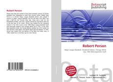 Bookcover of Robert Person