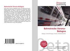 Bahnstrecke Verona–Bologna的封面