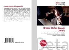 Обложка United States Senate Library