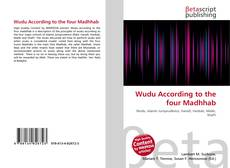 Wudu According to the four Madhhab kitap kapağı