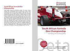 Capa do livro de South African Formula One Championship