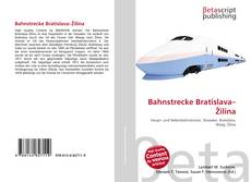 Bookcover of Bahnstrecke Bratislava–Žilina