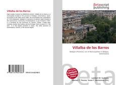 Capa do livro de Villalba de los Barros