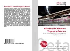 Bookcover of Bahnstrecke Bremen-Vegesack-Bremen
