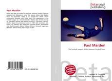 Portada del libro de Paul Mardon