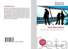 Bookcover of Paul Marc Davis