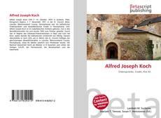 Buchcover von Alfred Joseph Koch