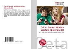 Call of Duty 4: Modern Warfare (Nintendo DS)的封面