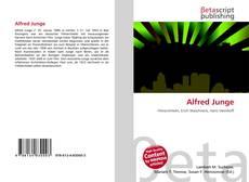 Capa do livro de Alfred Junge